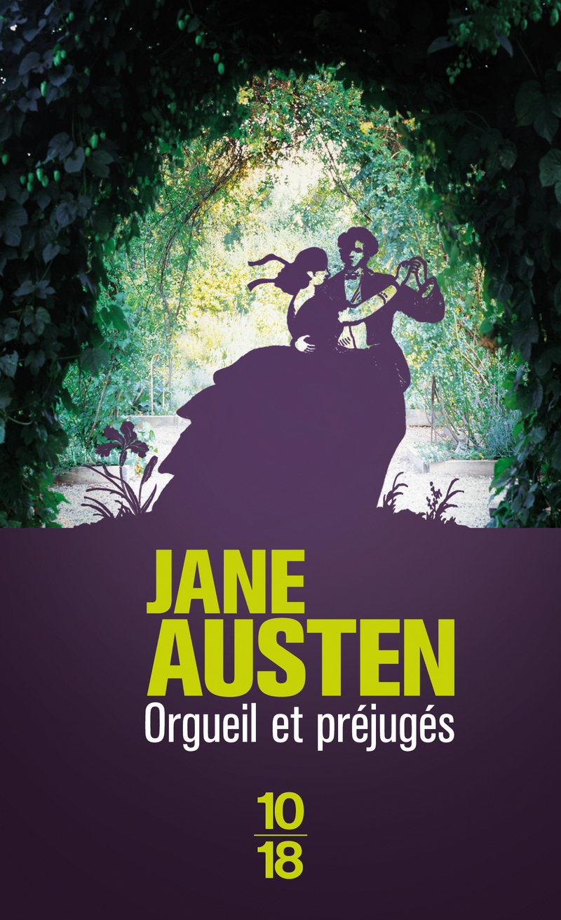 Les couvertures des romans de Jane Austen 9782264023827