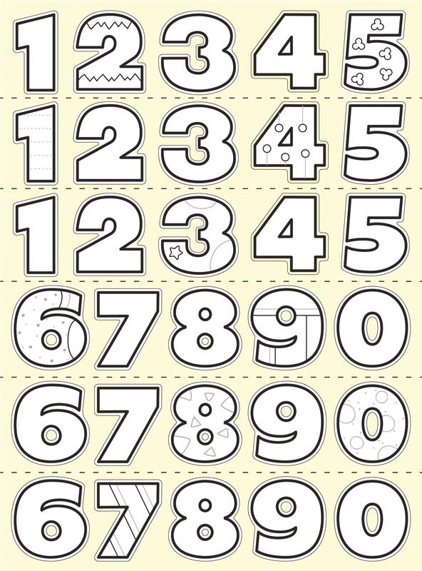 Avec chiffres de 0 20 coloriage - Dessin avec des chiffres ...