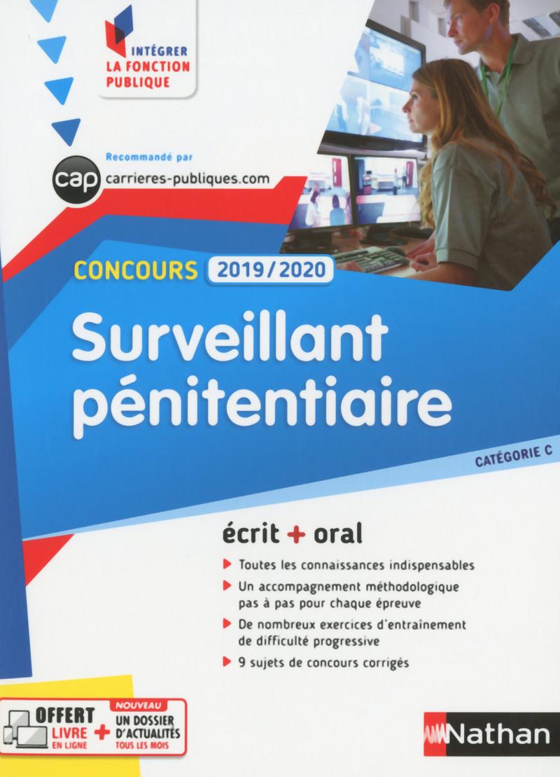 ca5ebe7aefd Concours Surveillant pénitentiaire - Catégorie C - Intégrer la fonction  publique - 2019 2020
