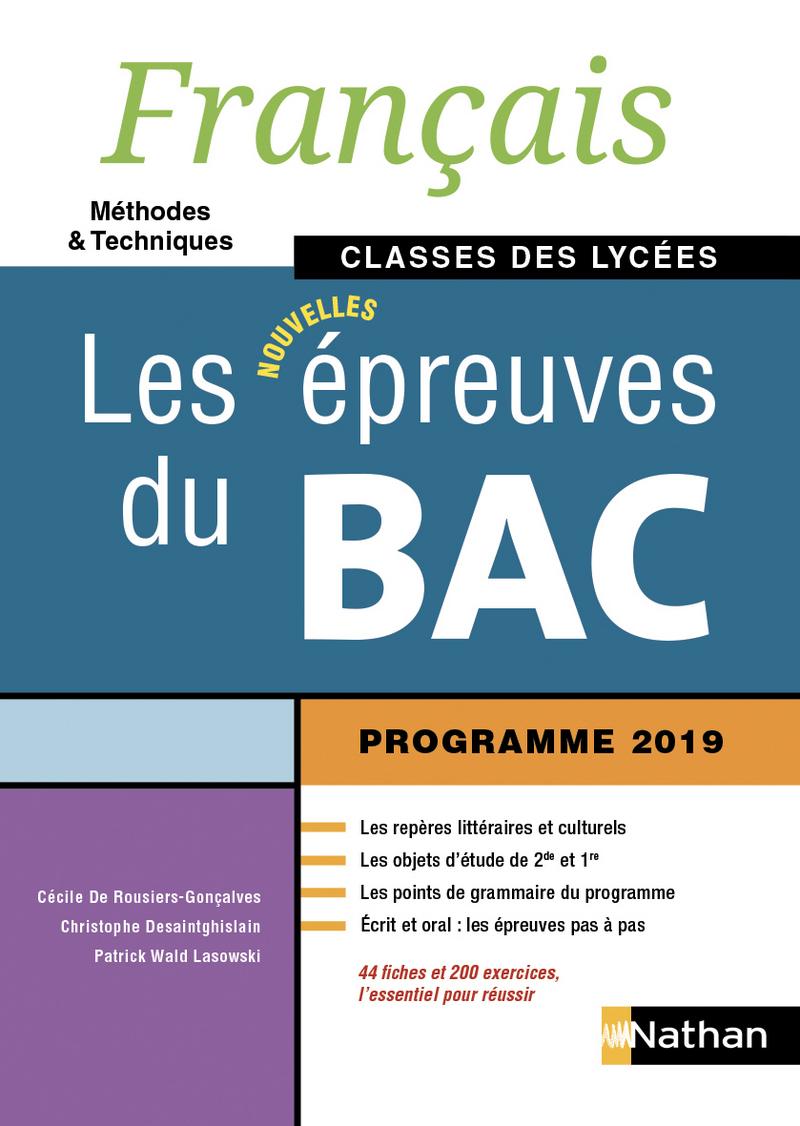 Francais Les Nouvelles Epreuves Du Bac Classes Des