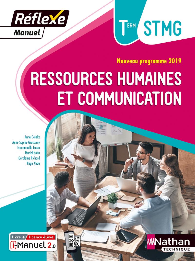 Ressources Humaines Et Communication Term Stmg Manuel Livre Licence Numerique I Manuel 2 0 9782091670591 Editions Nathan