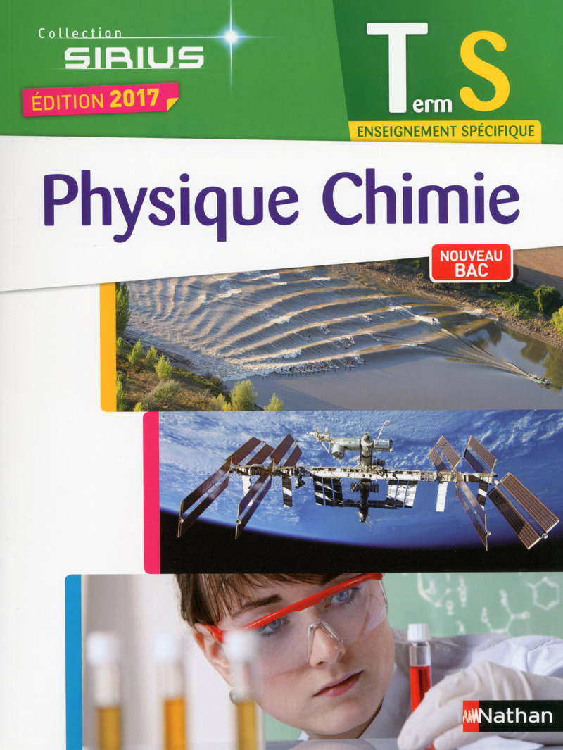 Physique Chimie Sirius Terminale S