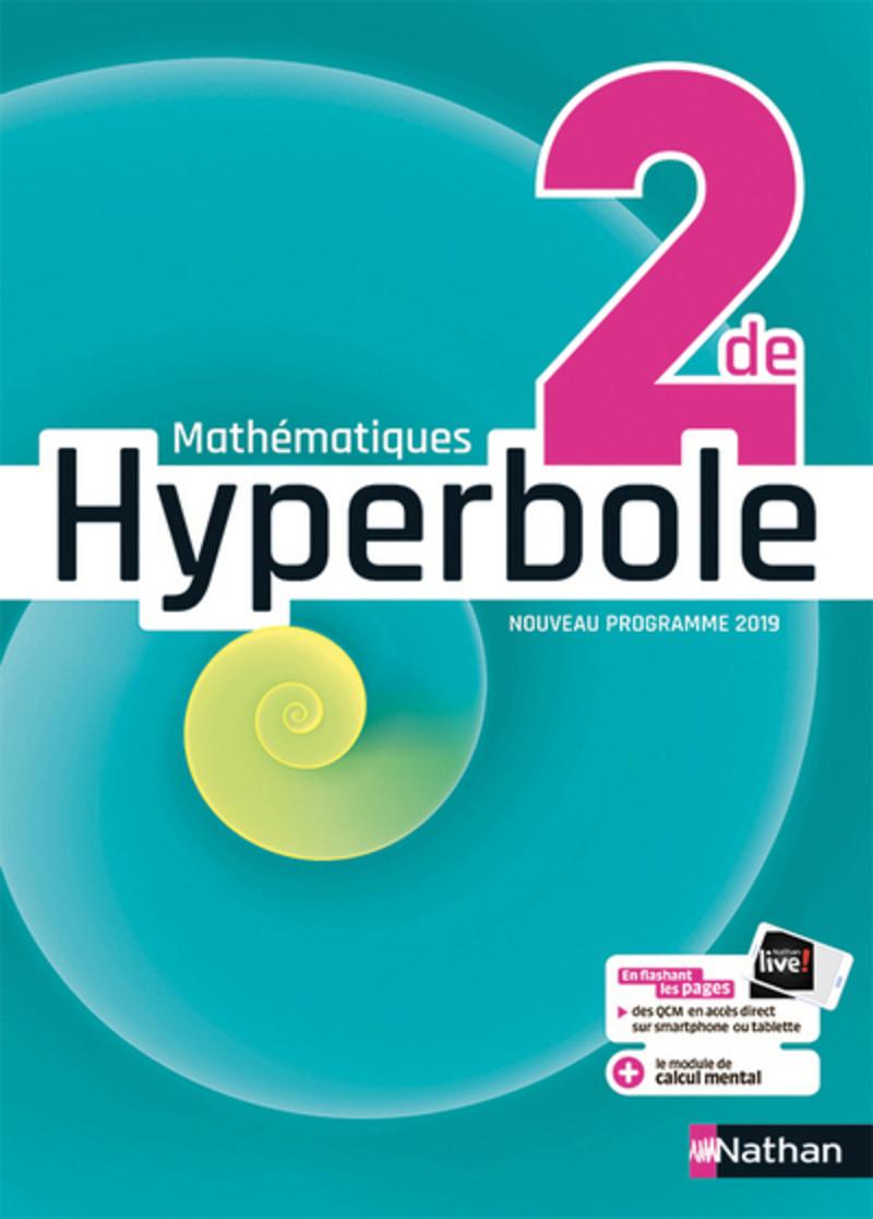 Hyperbole 2de Livre De L Eleve 9782091729053 Editions