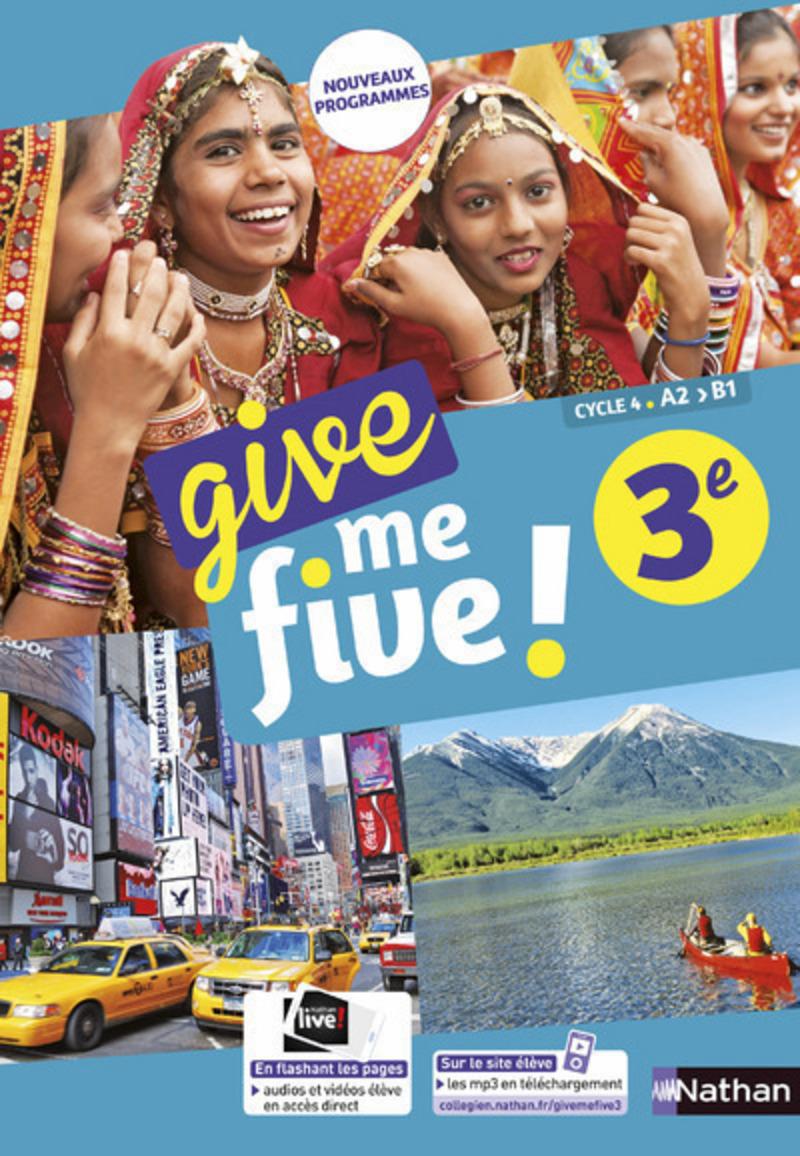 Give me five! 3e