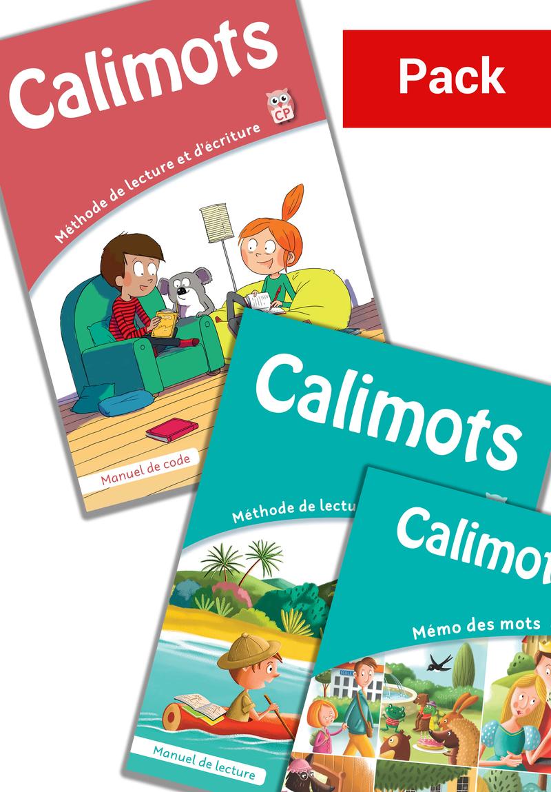 Calimots CP - Manuel de lecture - Manuel numérique élève - licence 1 an