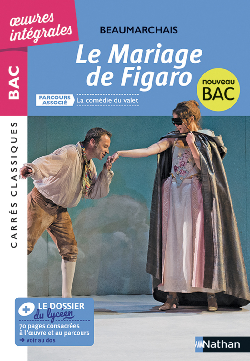 Le Mariage de Figaro , BAC 2020 Parcours associé La comédie