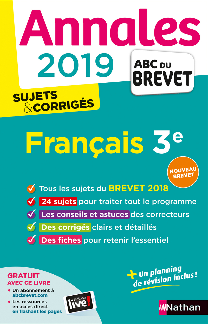 Les annales 2019