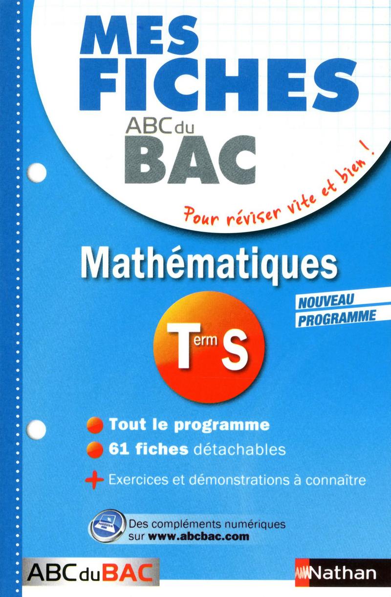 terminales s maths