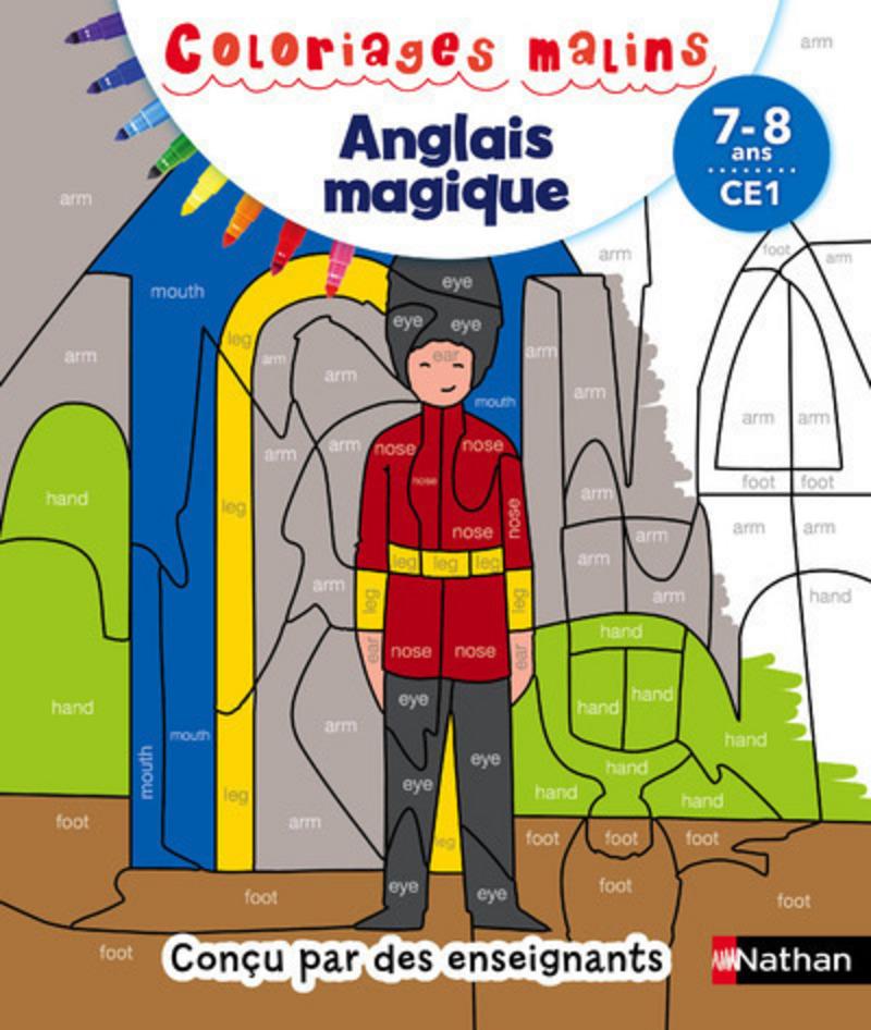 Coloriages magiques - Anglais CE1 7/8 ans