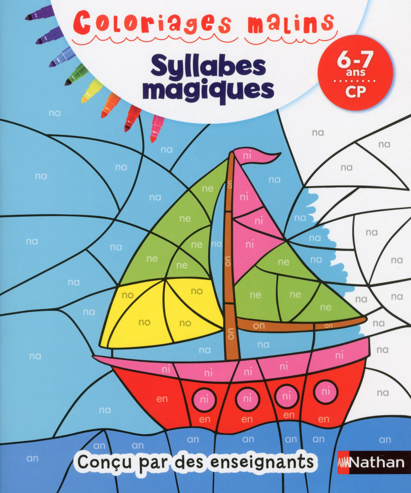 Coloriage Cp Syllabes.Coloriages Malins Syllabes Magiques Cp Coloriages Malins