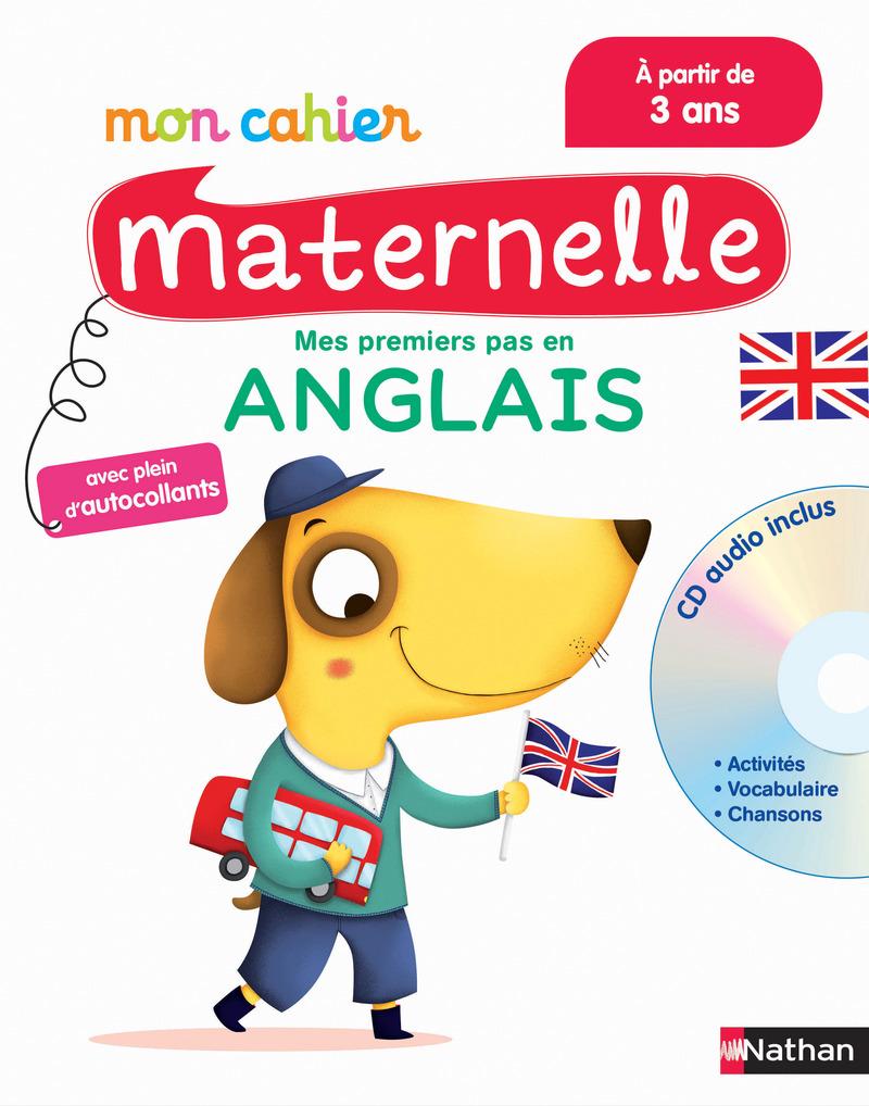 Extrêmement Mon Cahier Maternelle Anglais - à partir de 3 ans | Mon cahier  LN68