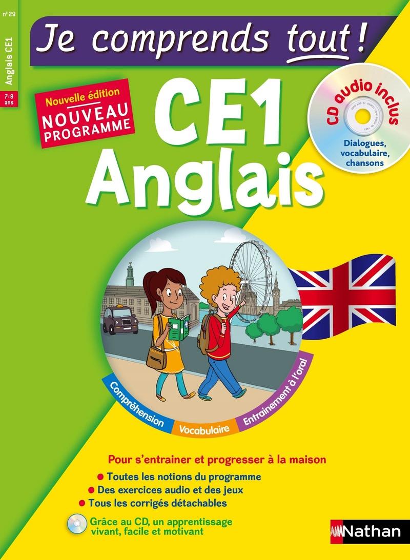 Anglais CE1 - cours + exercices + audio - Je comprends tout - conforme au programme de CE1