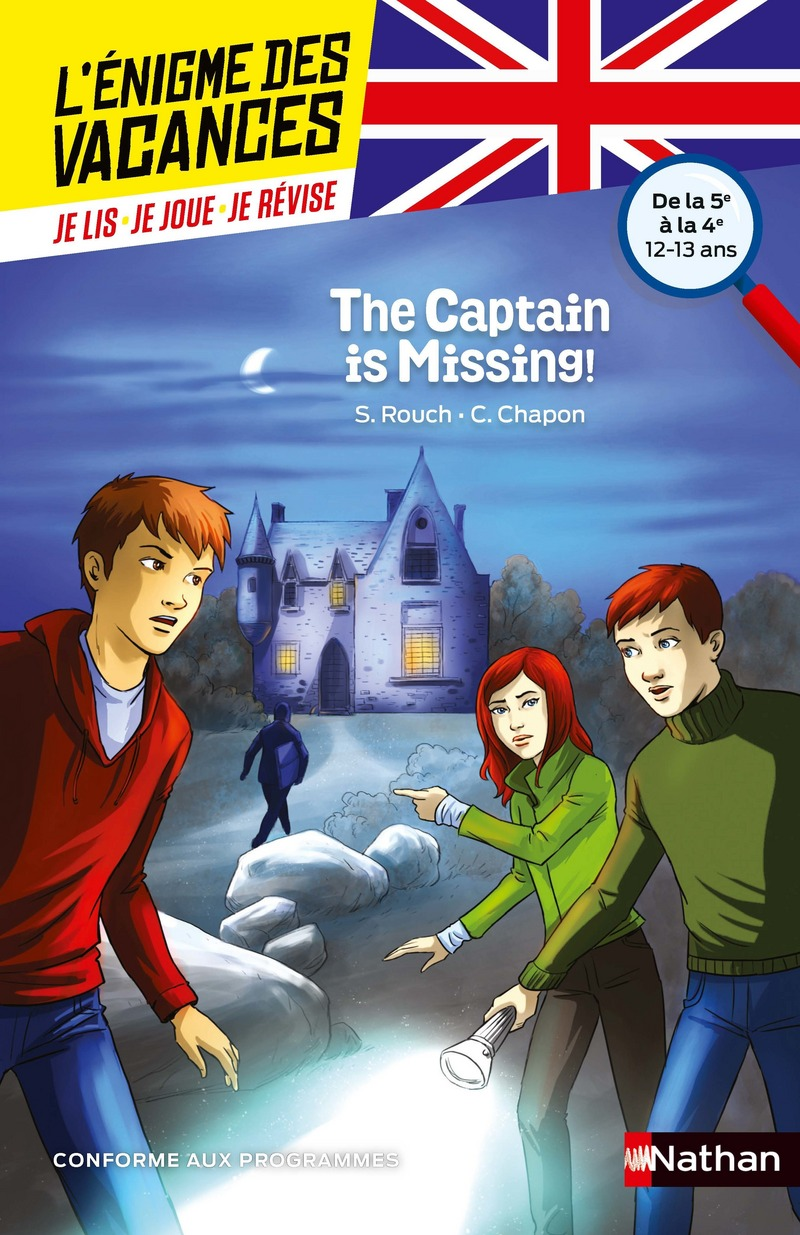 The captain is missing ! - L'énigme des vacances Anglais - 5e vers 4e - 12/13 ans