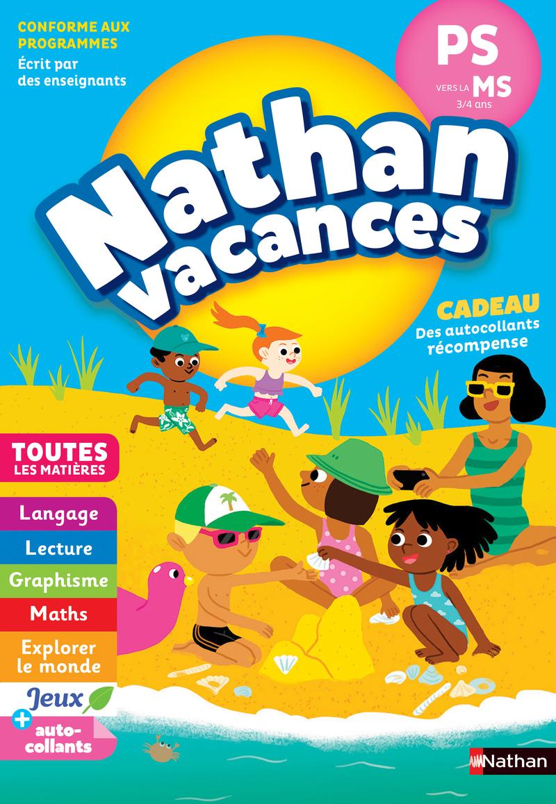 9e1609f7e95e7 Cahier de Vacances 2019 de la PS vers la MS - Maternelle 3/4 ans