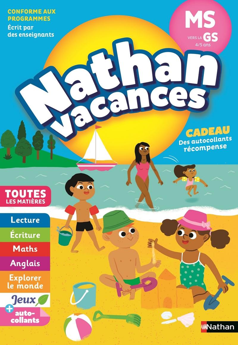 6d81e5e51ec50 Cahier de Vacances 2019 de la Moyenne Section vers la Grande Section -  Maternelle 4/5 ans