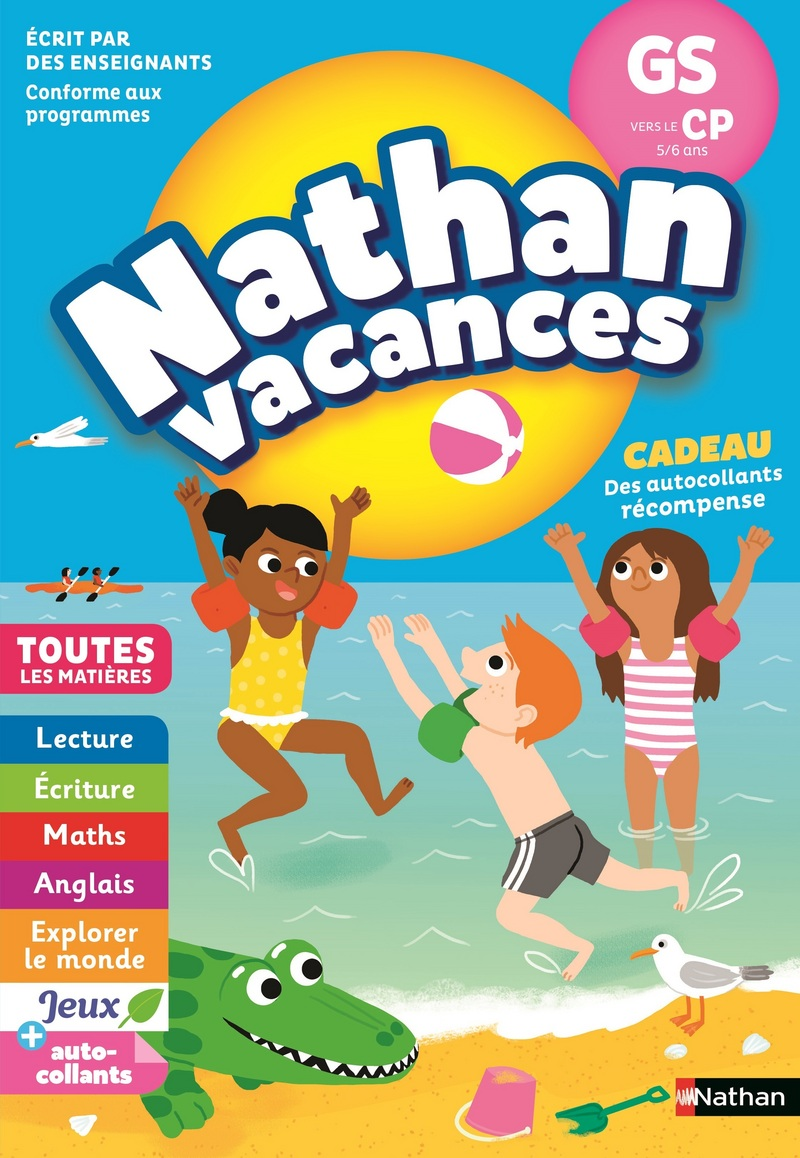 4b0a4f3d322f7 Cahier de Vacances 2019 de la GS vers le CP - Maternelle 5/6 ans