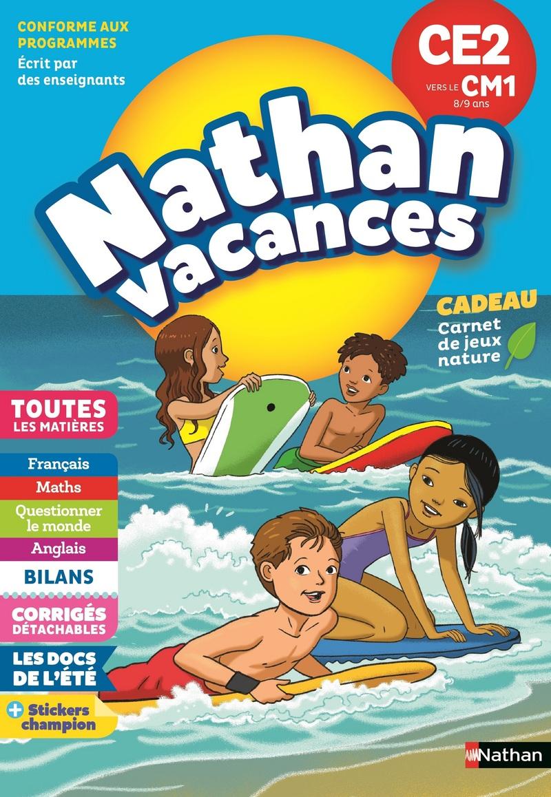 90329bbd101bf Cahier de Vacances 2019 du CE2 vers le CM1 - Nathan Vacances - 8/9 ANS