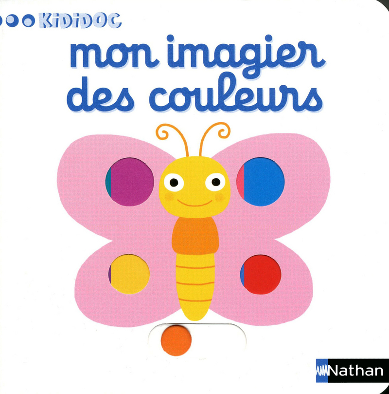 Mon Imagier Des Couleurs Kididoc Editions Nathan
