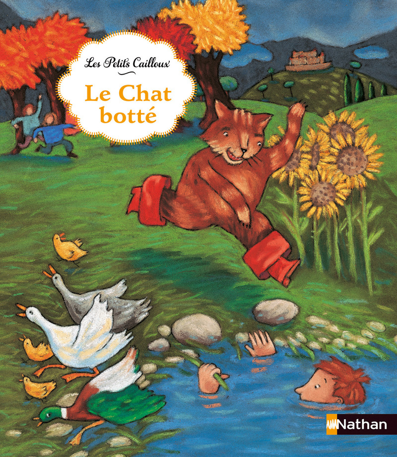 Fabuleux Le chat botté | Les petits cailloux | Éditions NATHAN BI88