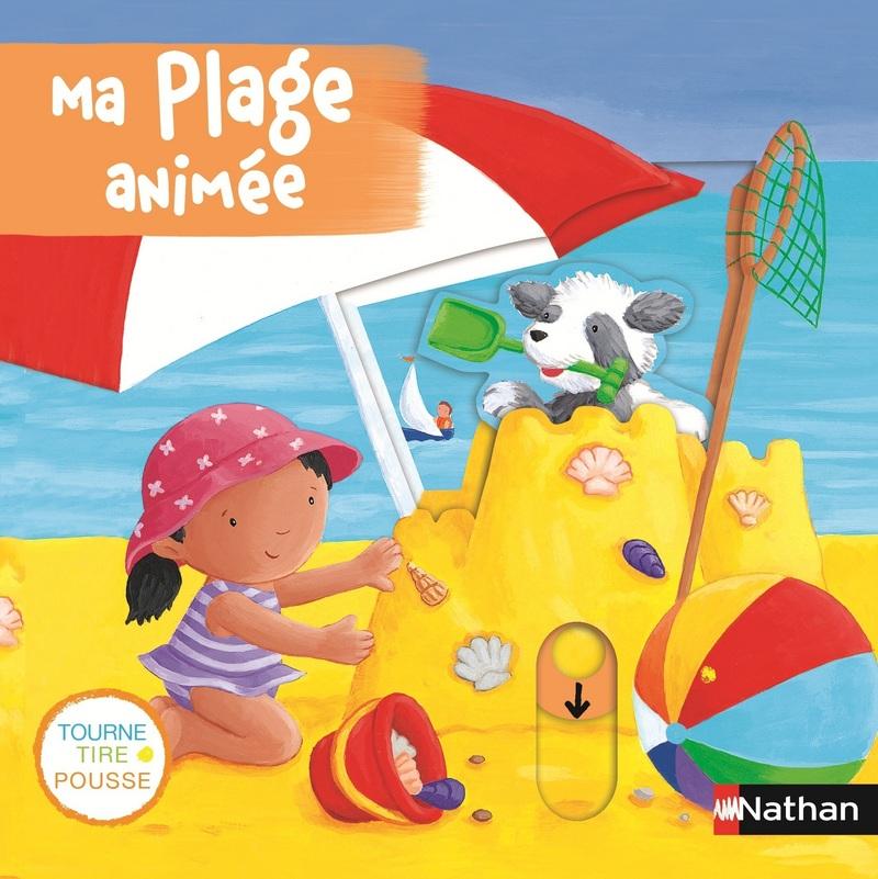 Ma Plage Animee Livres Animes Editions Nathan
