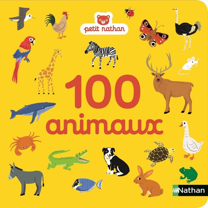 100 Animaux Imagier Des 6 Mois Petit Nathan Editions