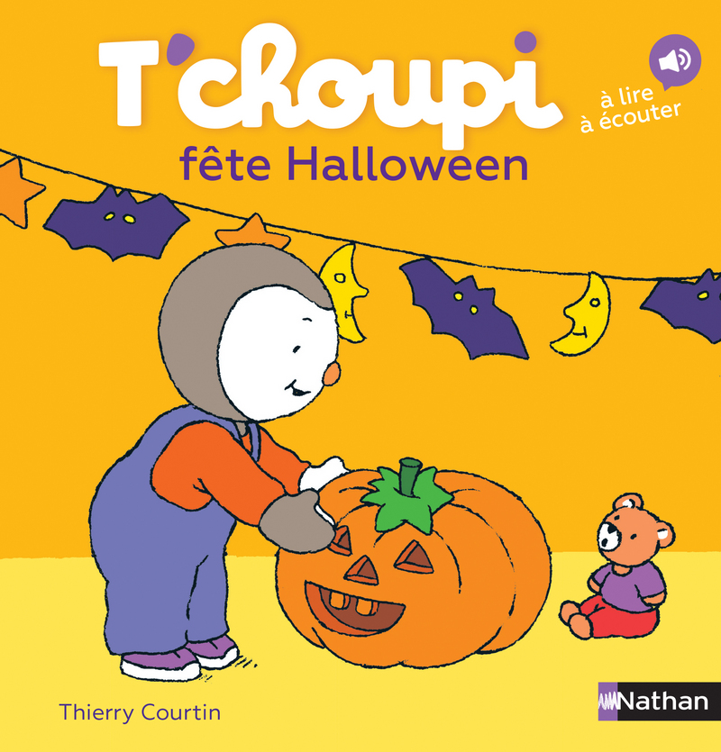 T Choupi Fete Halloween Des 2 Ans T Choupi Editions Nathan