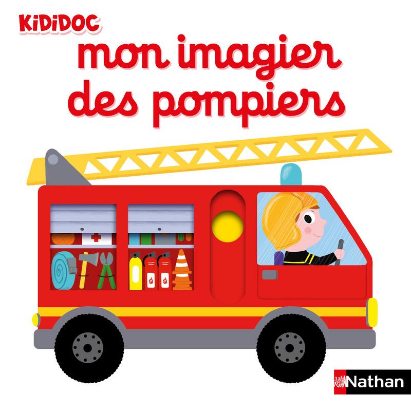 Mon Imagier Des Pompiers Livre Anime Kididoc Des 1 An