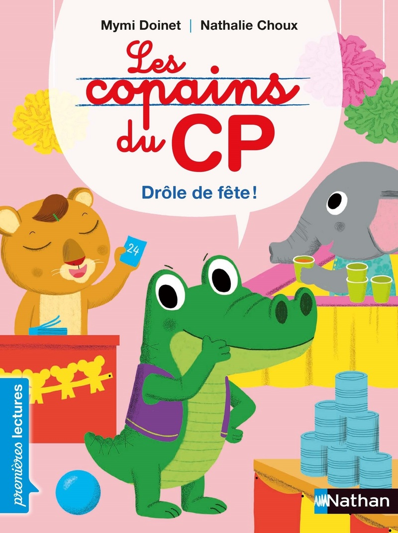 Les copains du CP : Drôle de fête !