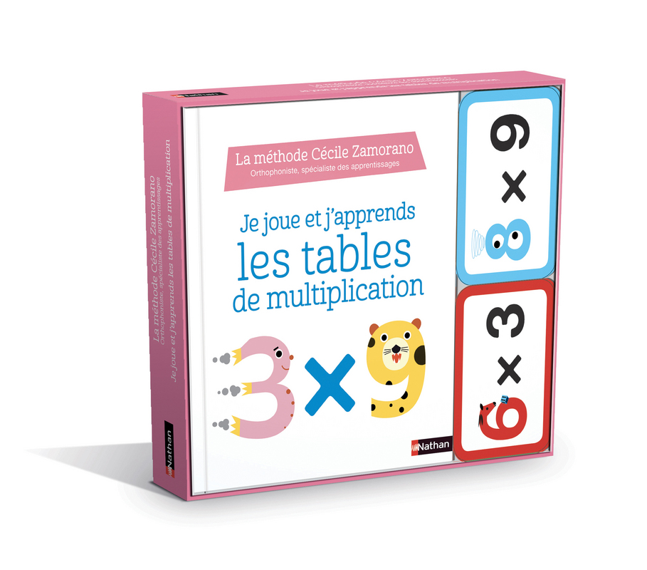 Je Joue J Apprends Les Tables De Multiplication Des 6 Ans Je