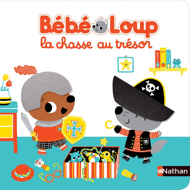 Bebe Loup La Chasse Au Tresor Livre Surprise Des 6 Mois