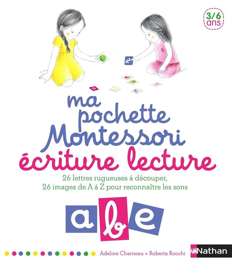 Ma pochette Montessori Ecriture lecture - 3/6 ans