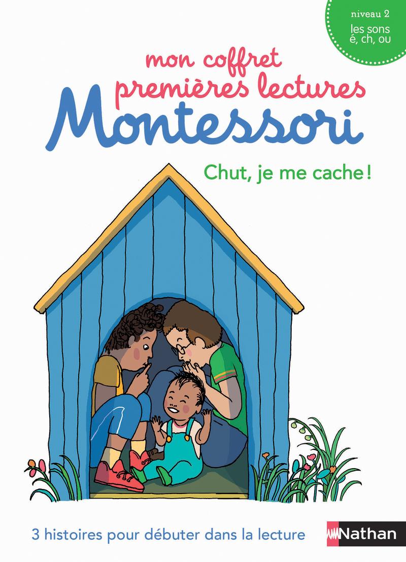 Mon coffret premières lectures Montessori : Chut, je me cache ! - Niveau 2 - 4/7 ans -