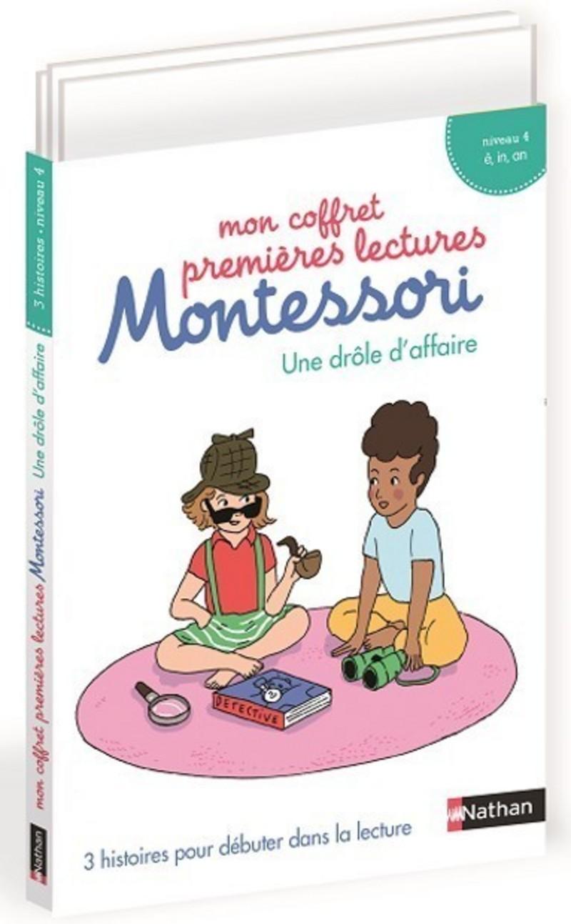 Mon coffret premières lectures Montessori - une drôle d