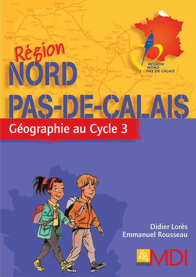 Ensemble fascicule + carte R�gion Nord-Pas-de-Calais
