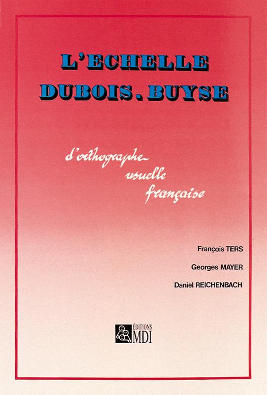 P�dagogie - L'�chelle Dubois-Buyse