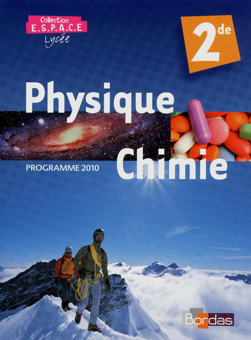 Correction Physique Chimie Seconde