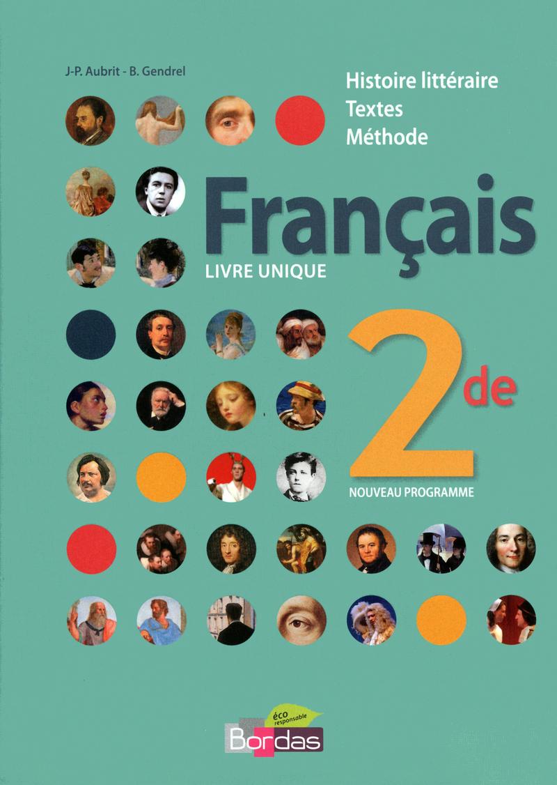 Francais Livre Unique 2de Manuel De L Eleve Ed 2015