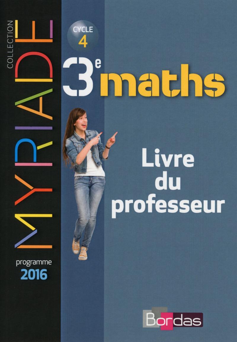 myriade mathematiques 3eme corriges 2016