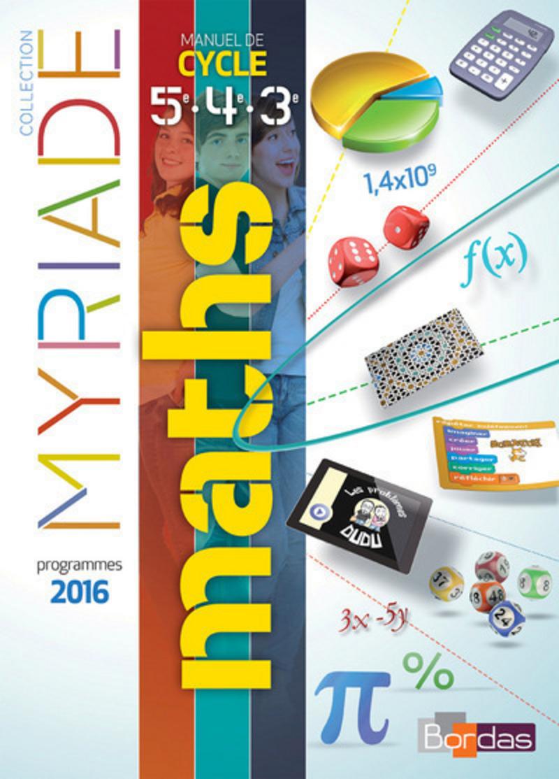 myriade mathematiques 3eme corrige