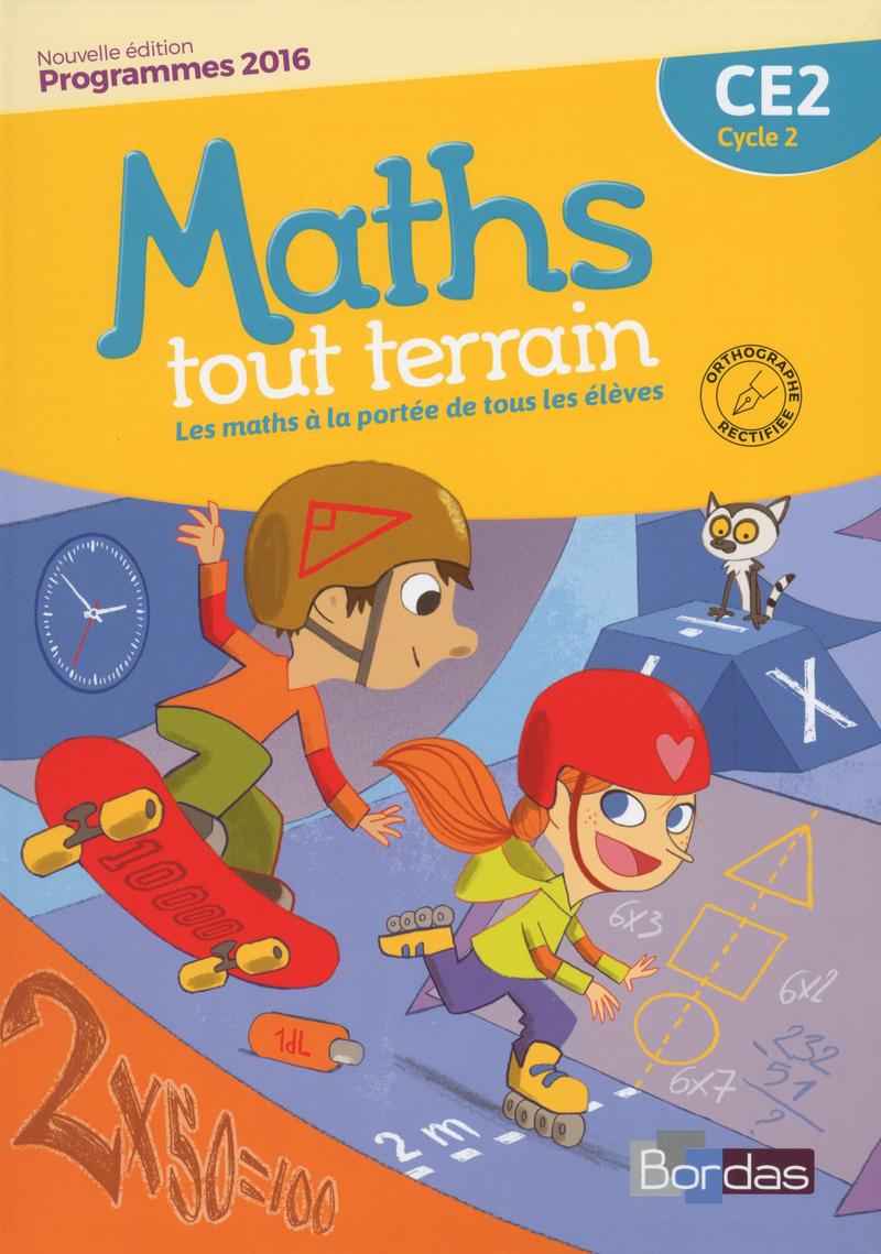 Maths tout terrain ce2 manuel de l 39 l ve editions bordas - A portee de maths cm2 en ligne ...