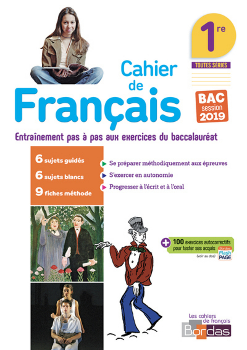 Francais 1re 2018 Cahier D Exercices Ed 2018 Editions