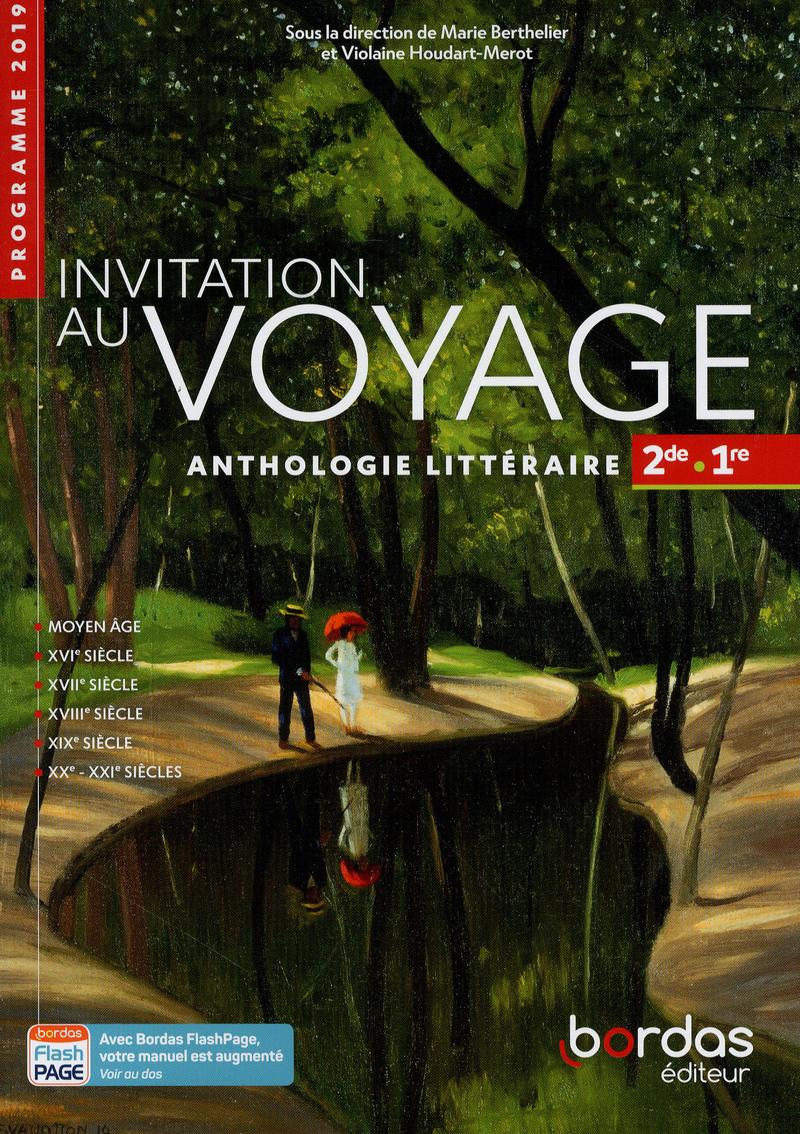 Invitation au voyage Anthologie Français 2de-1re 2019