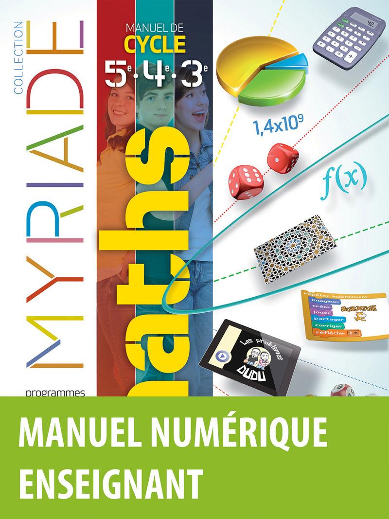 myriade mathematiques 5eme corrige