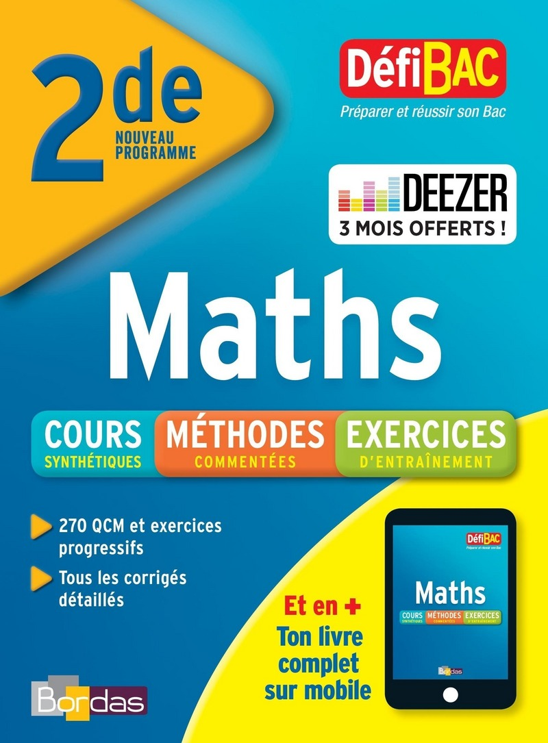 DéfiBac 2de Maths