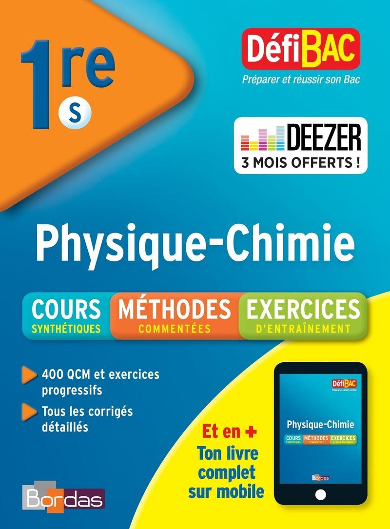 DéfiBac 1re Physique-Chimie