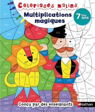 Multiplications magiques à partir de 7 ans