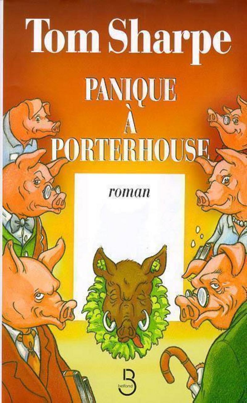 Couverture de l'ouvrage Panique à Porterhouse