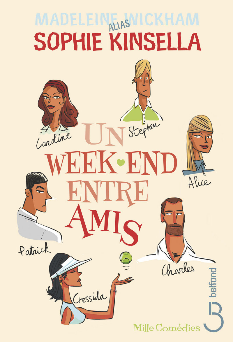 Un week end entre amis madeleine wickham sophie kinsella for Menu entre amis