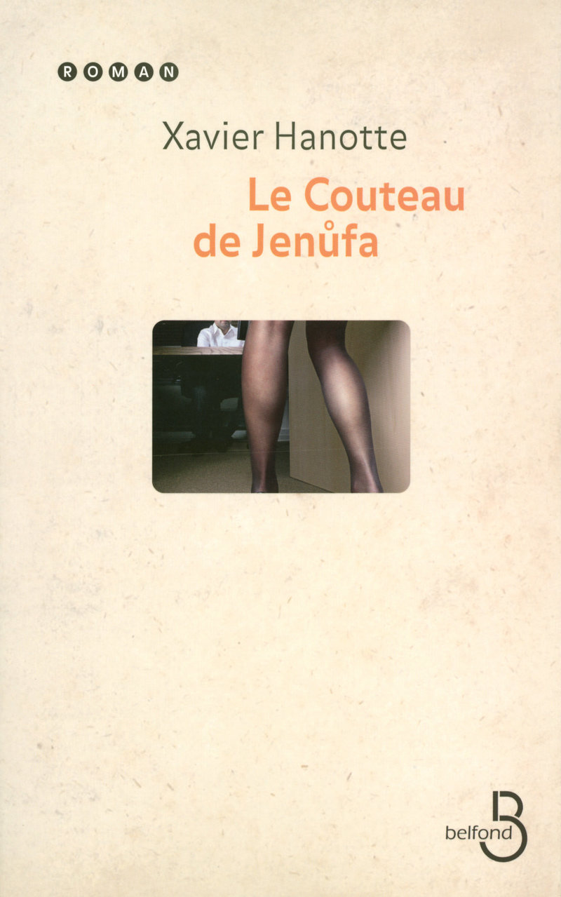 Couverture de l'ouvrage Le Couteau de Jenufa