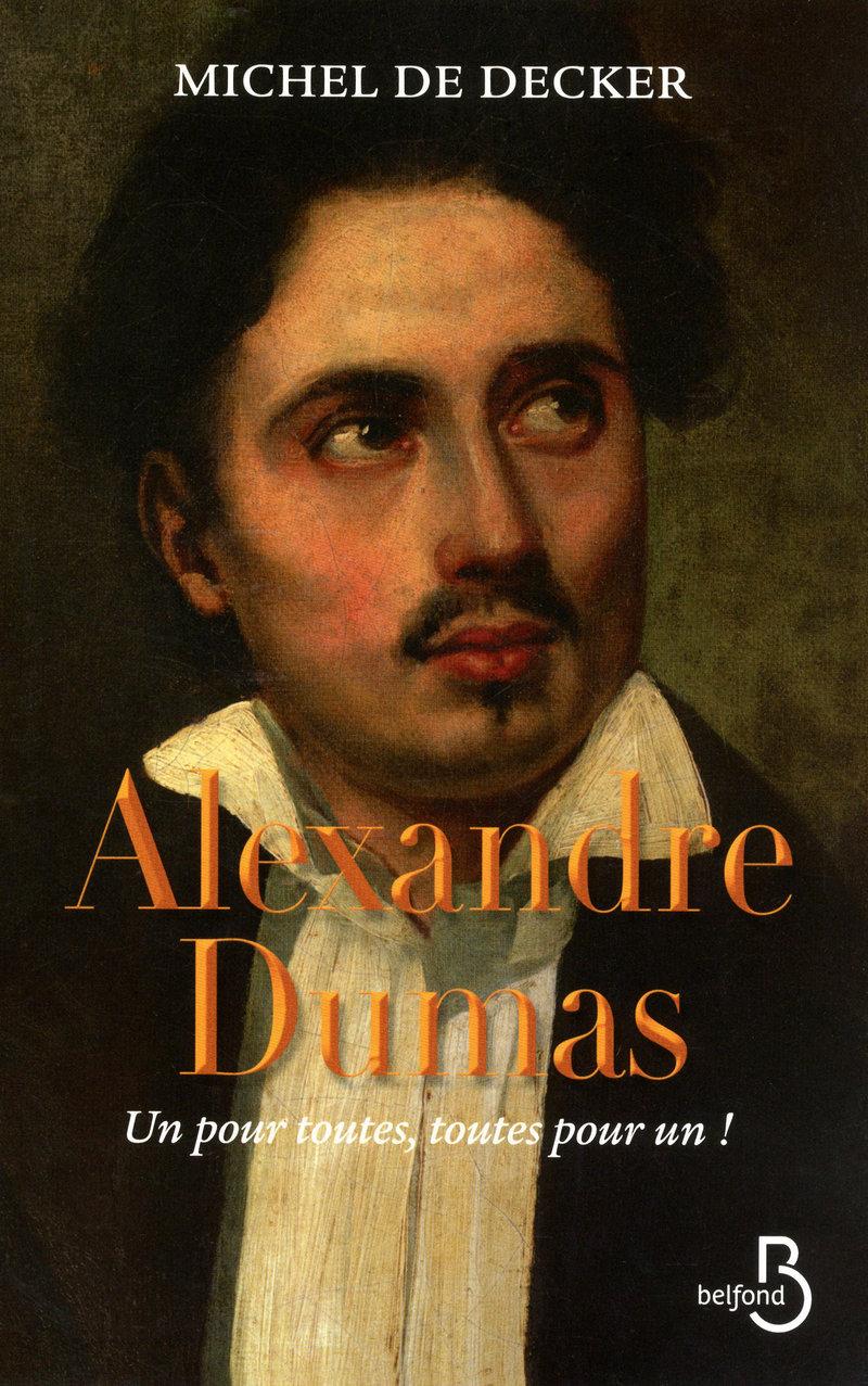 Couverture de l'ouvrage Alexandre Dumas